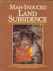 Cover of: Man-induced land subsidence |