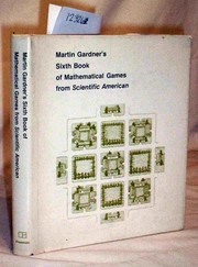 Cover of: Martin Gardner's sixth book of mathematical games from Scientific American