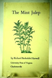 Cover of: The mint julep