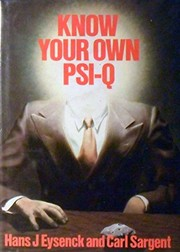Cover of: Know your own PSI-Q