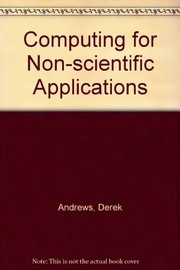 Cover of: Computing for non-scientific applications