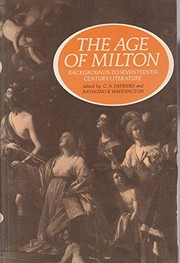 Cover of: Age of Milton