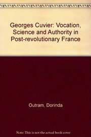 Cover of: Georges Cuvier