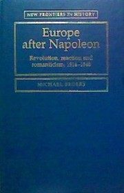 Cover of: Europe after Napoleon