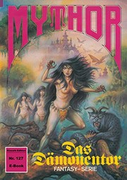 Cover of: Mythor 127: Das Dämonentor (German Edition)