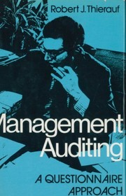 Cover of: Management auditing | Robert J. Thierauf