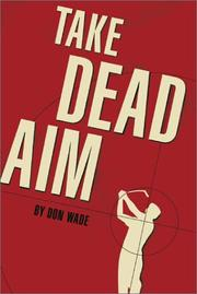 Cover of: Take dead aim