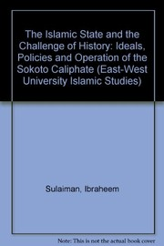 Cover of: The Islamic state and the challenge of history
