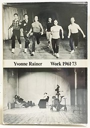 Cover of: Work, 1961-73