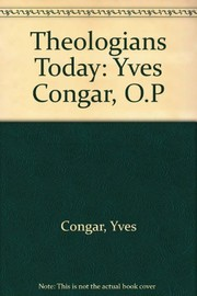 Cover of: Yves M.-J. Congar, OP