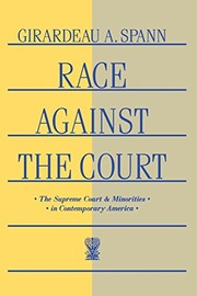 Cover of: Race against the court | Girardeau A. Spann