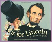 Cover of: L Is For Lincoln | Kathy-Jo Wargin