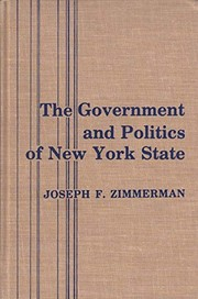 Cover of: The government and politics of New York State