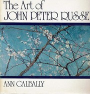 Cover of: The art of John Peter Russell | Ann Galbally