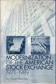 Cover of: Modernization of the American Stock Exchange, 1971-1989