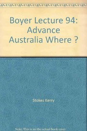 Cover of: Advance Australia where? | Kerry Stokes