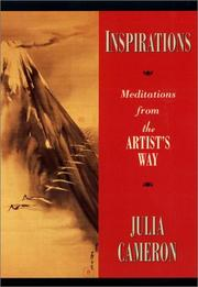 Cover of: Inspirations: Meditations from The Artist's Way
