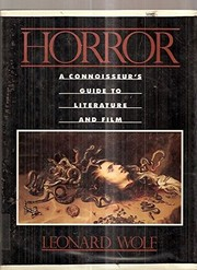 Cover of: Horror | Leonard Wolf