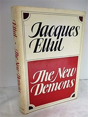 Cover of: The new demons | Jacques Ellul