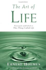 Cover of: The Art of Life
