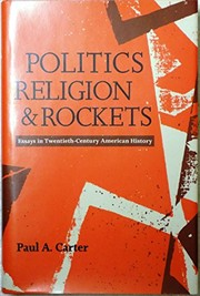 Cover of: Politics, religion, and rockets