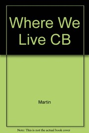 Cover of: Where we live | Martin, Judith A.