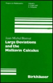 Cover of: Large deviations and the Malliavin calculus