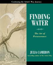 Cover of: Finding water: the art of perserverance