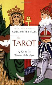 Cover of: The tarot | Paul Foster Case