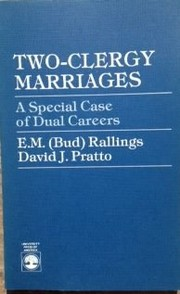 Cover of: Two-clergy marriages | E. M. Rallings