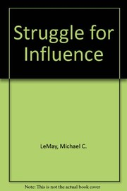 Cover of: The struggle for influence
