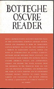 Cover of: Botteghe oscure reader