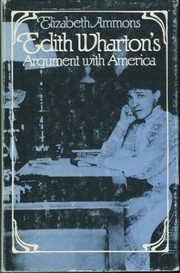 Cover of: Edith Wharton's argument with America