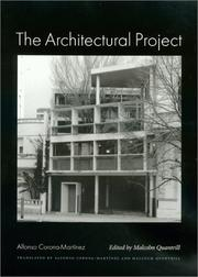 Cover of: The Architectural Project (Studies in Architecture and Culture) | Alfonso Corona Martinez