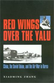 Cover of: Red Wings over the Yalu | Xiaoming Zhang