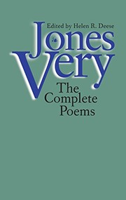 Cover of: Jones Very