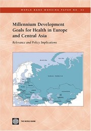 Cover of: Millennium development goals for health in Europe and Central Asia | Bernd Rechel