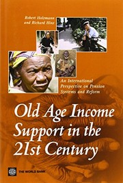 Cover of: Old-age income support in the 21st century