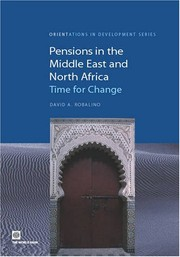 Cover of: Pensions in the Middle East and North Africa