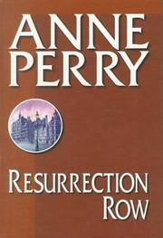 Cover of: Resurrection Row