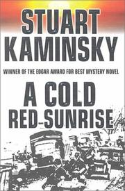 Cover of: A cold red sunrise: an Inspector Porfiry Rostnikov mystery