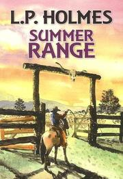 Cover of: Summer range