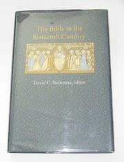 Cover of: The Bible in the sixteenth century