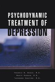Cover of: Psychodynamic Treatment of Depression | Fredric N. Busch