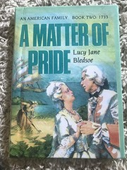 Cover of: A matter of pride
