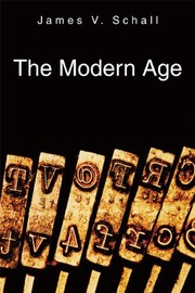 Cover of: The modern age