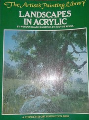 Cover of: Landscapes in acrylic | Wendon Blake