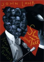 Cover of: Show and tell | John Lahr