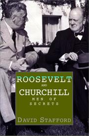 Cover of: Roosevelt and Churchill