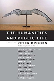 Cover of: The Humanities and Public Life